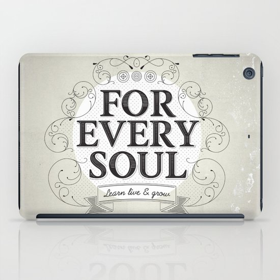 Every Soul iPad Case