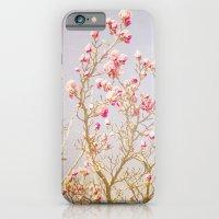 Sweet Pink Magnolias iPhone 6 Slim Case