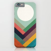 iPhone Cases featuring Rows of valleys by Budi Kwan