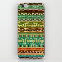 Inspired Aztec Pattern 3 iPhone & iPod Skin