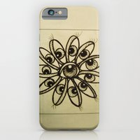 iPhone & iPod Case featuring Eye Flower by GalaArt