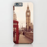 iPhone & iPod Case featuring London Booth by Gisele Morgan