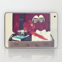 Vintage Journey Suitcase (His) (Retro and Vintage Still Life Photography) Laptop & iPad Skin