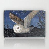Barn Owl at Night Laptop & iPad Skin