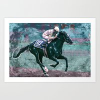 Sunday Silence Art Print