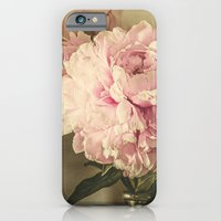 Painted Peonies -- Botanical Still Life iPhone 6 Slim Case