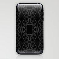 Slate Gray Colorburst iPhone & iPod Skin