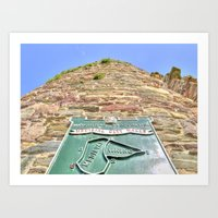 French Tower, Waterford … Art Print