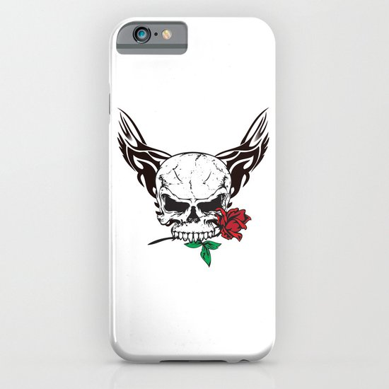 skull II iPhone & iPod Case