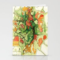 Mate' Cartography Stationery Cards