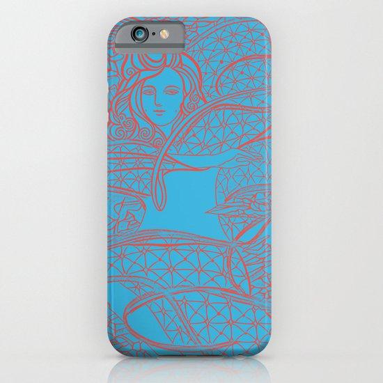 A Great Magician / Original A4 Illustration / Pen & Ink iPhone & iPod Case