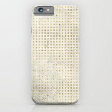 gOld squares iPhone 6s Slim Case