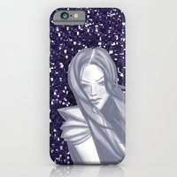 iPhone & iPod Case featuring Sapphire Woman by Daniella Gallistl