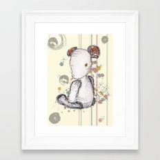 Mr Ted Framed Art Print