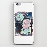 Stephen Hawking iPhone & iPod Skin