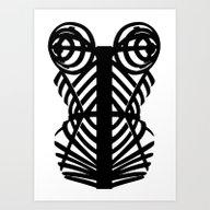 Art Print featuring Madonna Corset #MDNA TOU… by Franziskooo