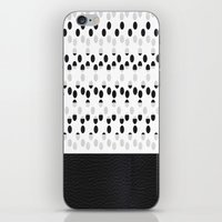 I see dots in black and white! iPhone & iPod Skin