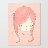 소녀 THIS GIRL Canvas Print