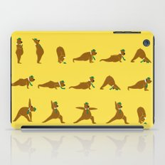 Yoga Bear - Classic iPad Case