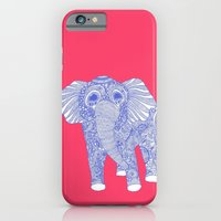 Ornate Ellie In Blue iPhone 6 Slim Case