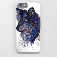 Midnight Wolf iPhone 6 Slim Case
