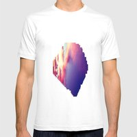 Cloudscape VII Mens Fitted Tee White SMALL