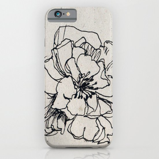 Flower Hairpin iPhone & iPod Case