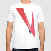 Bowie Mens Fitted Tee White SMALL