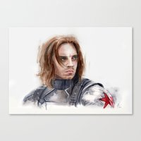 Who The Hell Is Bucky Canvas Print