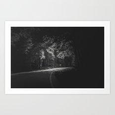 Darkness Ends Art Print