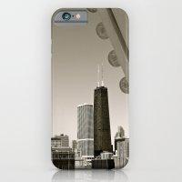 Stark Chicago in Black & White iPhone 6 Slim Case