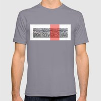 Four sides of a box (i) Mens Fitted Tee Slate SMALL