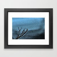Hunted Branch Framed Art Print