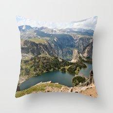 Beartooth Pass Lookout Throw Pillow