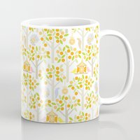 Birds And Oranges Mug