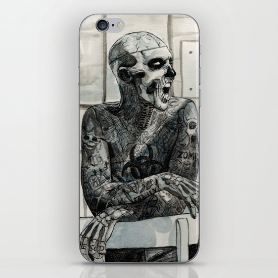 Zombie Boy iPhone & iPod Skin