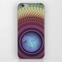 Imperceivable Worlds iPhone & iPod Skin