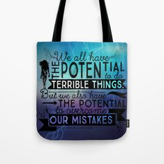 Under The Never Sky - Potential Tote Bag