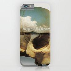 Memories live forever iPhone 6s Slim Case