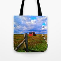 One Red Barn Tote Bag
