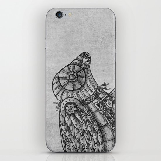 Clockwork Bird  iPhone & iPod Skin