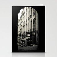 Parisian Doorway Stationery Cards