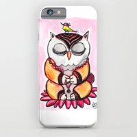 iPhone & iPod Case featuring Zen Owl  by Olive Primo Design + Illustration