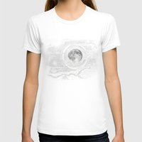 bunny T-shirts featuring Moon Glow by brenda erickson