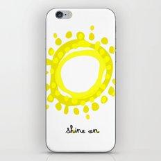 Shine on! iPhone & iPod Skin