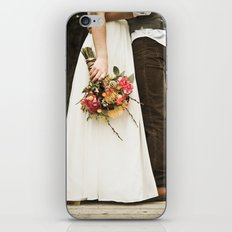 flowers on bridge iPhone & iPod Skin