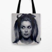 CATHERINE DENEUVE Tote Bag