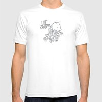 Ur Jellies Mens Fitted Tee White SMALL