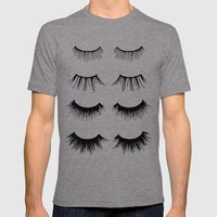 Beauty Lashes Mens Fitted Tee Tri-Grey SMALL