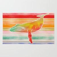 Whale  by Jacqueline Maldonado & Garima Dhawan Rug